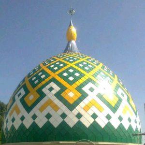 kubah masjid bahan GRC Berau